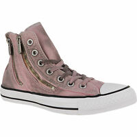 Women Converse Chuck T All Star Dual Zip Hi Wash Sizes 5-10, 549738c Pink Freeze
