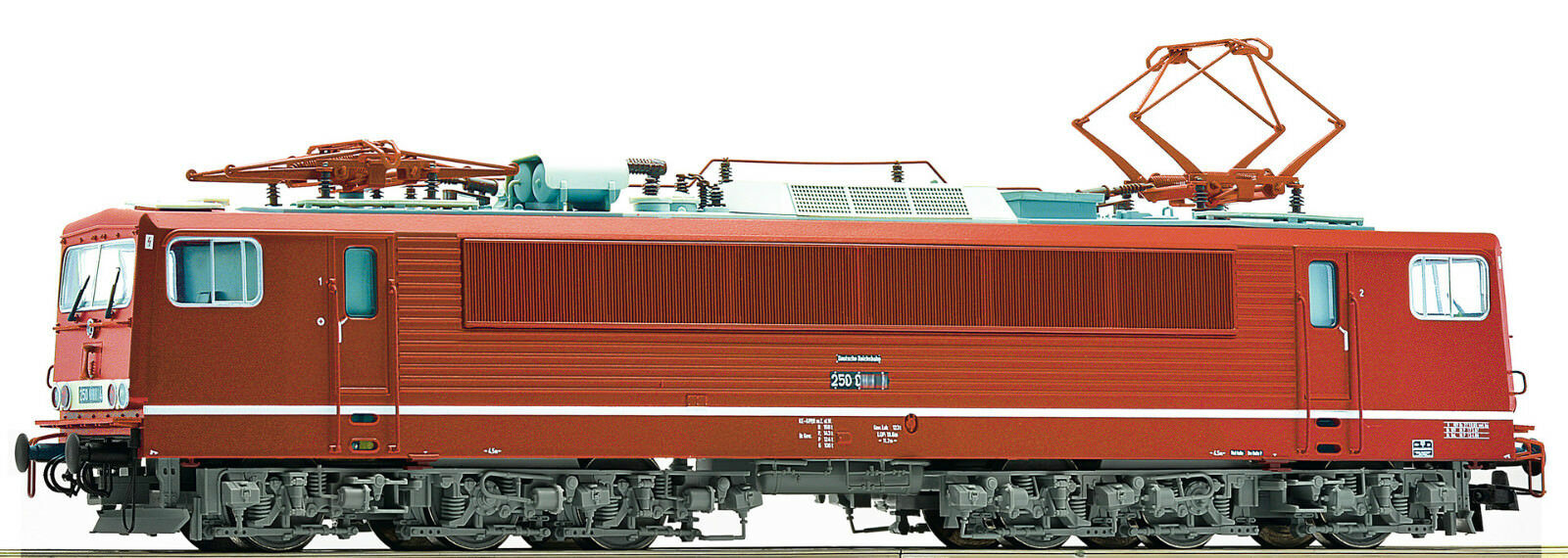ROCO 73616 Locomotive électrique BR 250 244-1 Dr ep IV neuf&emballage d'origine