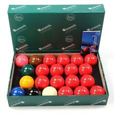 """Aramith 2 1/16"""" (52.4mm) Premier Full Size Snooker Ball Set - 22 Balls"""