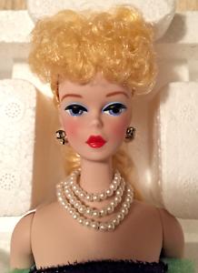 1990 solo en el centro de atención de Barbie de porcelana Menta en caja Rare Edición Limitada