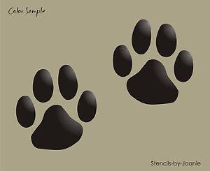 Dog Bone Stencil Misc  Sizes Paw Print Pet Kennel Puppy Vet Shelter