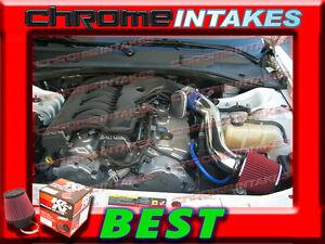 K/&N+BLUE RED 05-10 DODGE MAGNUM//CHARGER//CHRYSLER 300 2.7L V6 COLD AIR INTAKE