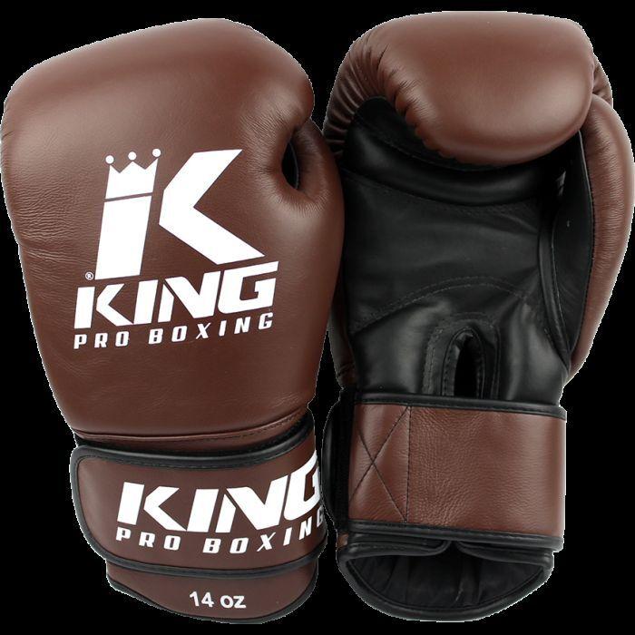KING Boxhandschuhe KPB BG 4. 10-16oz. 100% Leder. Muay Thai, Kickboxen.Training