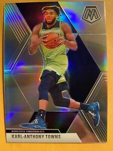 2019-20-Panini-Mosaic-Karl-Anthony-Towns-Silver-Prizm-SP-83-MINT-RARE