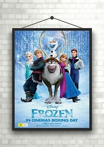 Frozen Movie Giant Poster A0 A1 A2 A3 A4 Sizes