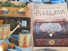 Fiddlestix Just From The Flea Market Painting Booklet-Francis/Meyer-Angels/Bird/