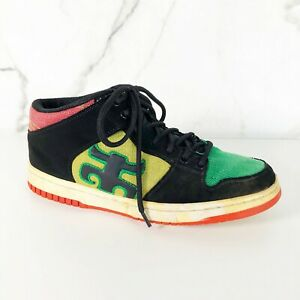 7390278ab3 Image is loading RARE-IPATH-Grasshopper-Rasta-Skateboard-Shoes-8-Sneakers-