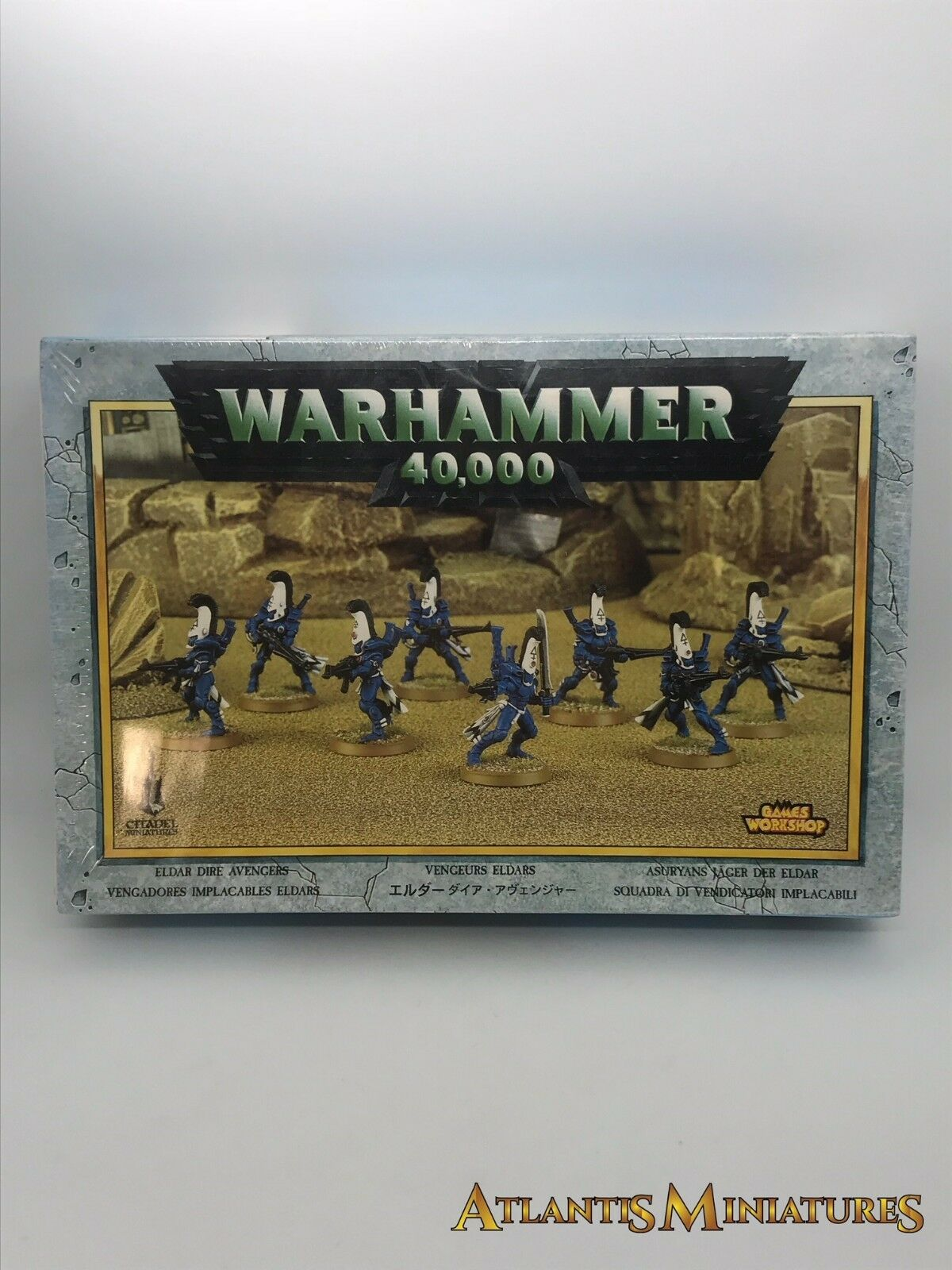 Eldar katastrophalen  boxed - seltenen - oop - warhammer 40k n210