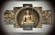 Modern Abstract Oil Painting Wall Decor Art Huge - Sakyamuni Buddha Statue