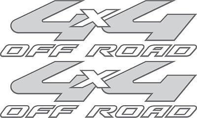 Super Duty GREY 2008-2010 Vinylmark 4x4 Off Road Decals for Ford F-250, F-350