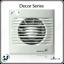 Soler and Palau Decor 100 Bathroom extract fans 220-240V 50Hz