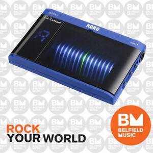 Korg-GA-Custom-Shop-Blue-3D-LED-Chromatic-Tuner-Guitar-Bass-BNIB-BM