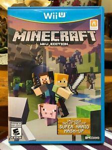 Nintendo Wii U Game Minecraft: Wii U Edition (Very Low Price!)