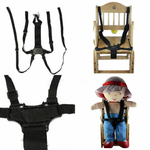 5 Point Harness Stroller High Chair Pram Buggy Safe Belt Strap Baby Children AU