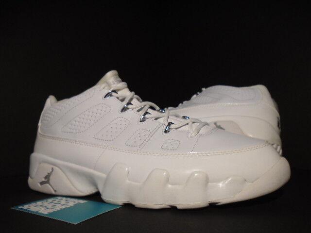 2018 Nike Plata Jordan IX 9 Retro Blanco Air Cromo Plata Nike Aniversario 303895111 10.5 f28a13