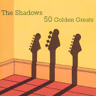 50 Golden Greats by The Shadows (CD, Jul-2000, 2 Discs, EMI Music Distribution)
