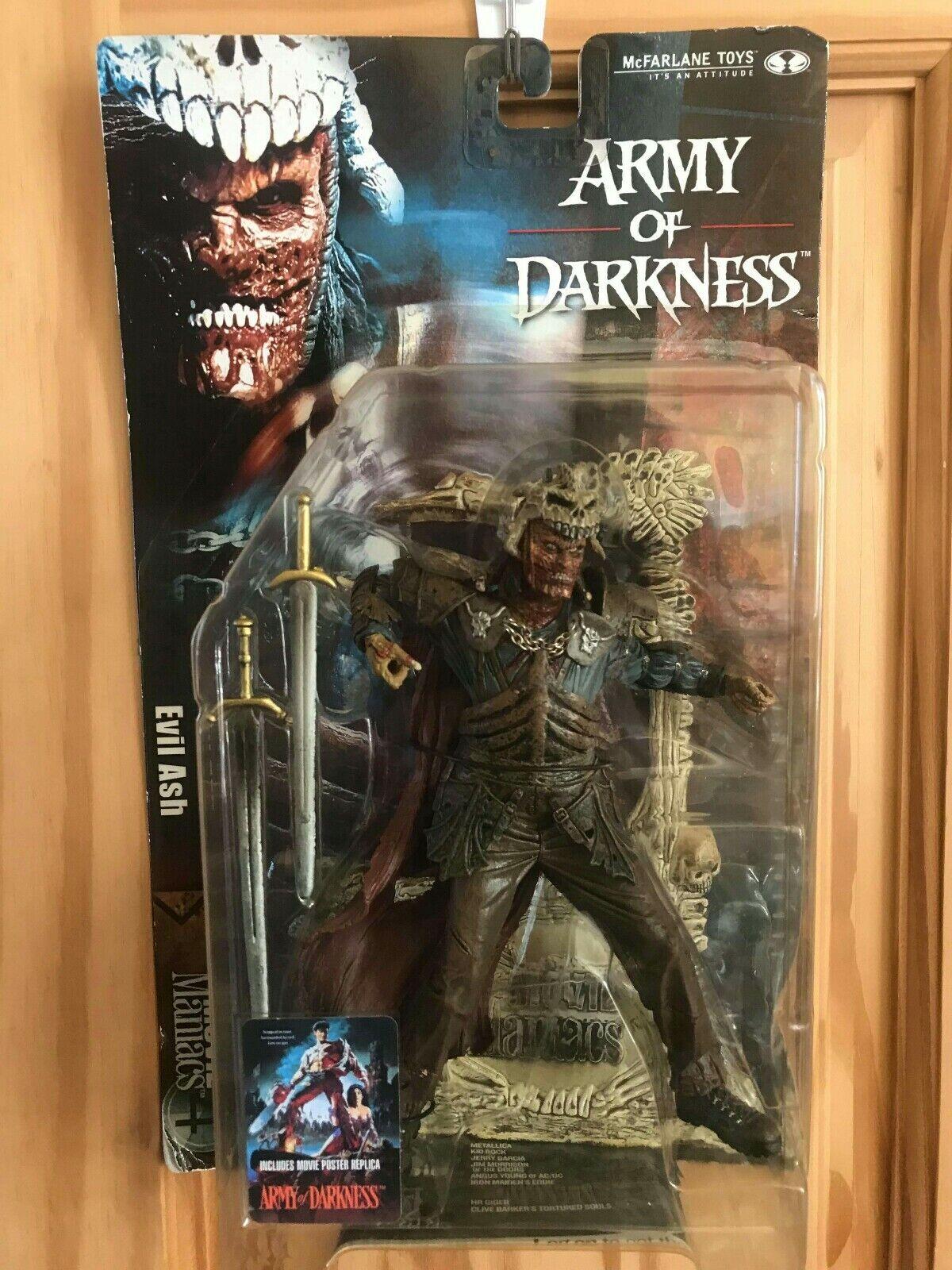 McFarlane giocattoli  MOVIE uomoIACS Army of Darkness EVIL Ash azione cifra  edizione limitata a caldo