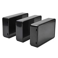 Fielect 10pcs Electronic Junction Box Abs Plastic Project Boxes Enclosure Case X