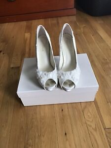 ea74b810b6c Image is loading Menbur-Heels-Wedding-Shoes-From-Nordstrom-Size-39