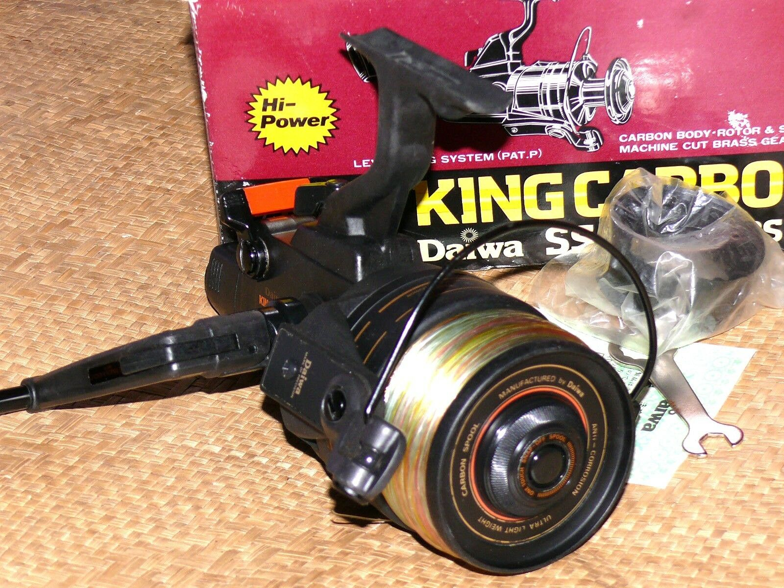 DAIWA SS 9000LDS KING CARBO  FISHING REEL Made in Japan Execellent
