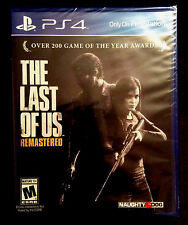 The Last of Us Remastered PS4 Sony PlayStation 4