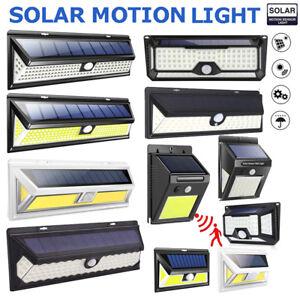 LED-Lampe-Solaire-Projecteur-Detecteur-de-Mouvement-Jardin-Exterieur-Lumiere
