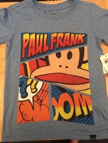 SZ 5 6 Julius FuNkY Paul Frank Spaceship Or Comic Strip Kids Tshirt