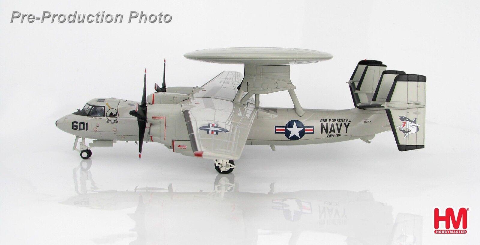 Hobby Master HA4810,Northrop Grumman Grumman Grumman E-2C Hawkeye 161343, VAW-122  Steel Jaws , 048e96