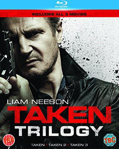 Taken Trilogy (3 Películas) 1 To 3 Movie Colección Blu-Ray Nuevo (6336807000)