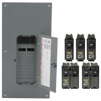 Square-d 200-amp 20-space 40-circuit Indoor Main-breaker Panel Box Load-center