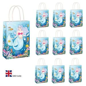 girls party bags Pre Filled *Personalised* Mermaid Party Bags mermaid gift