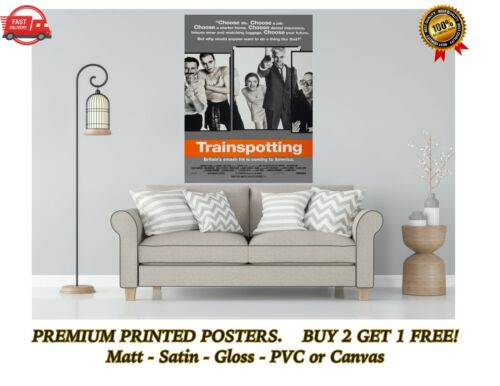 Details about  /Trainspotting Classic Movie Poster Art Print Gift A0 A1 A2 A3 A4 Maxi