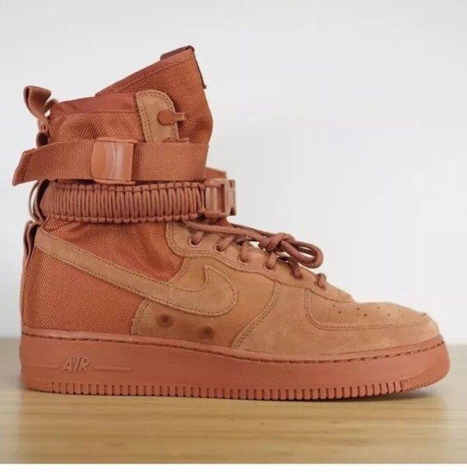 Nike sf af1 speciale campo polveroso polveroso campo peach 864024-204 taglia 10 air max 97 xi 1 jordan ebbf1e
