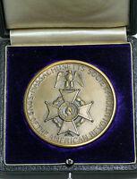1925 Washington & Franklin Award Medal Mass. Society Sons Of American Revolution