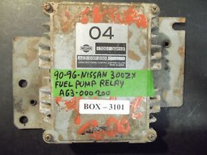 Details about 90 91 92 93 94 95 96 300ZX FUEL PUMP RELAY #A63-000 200
