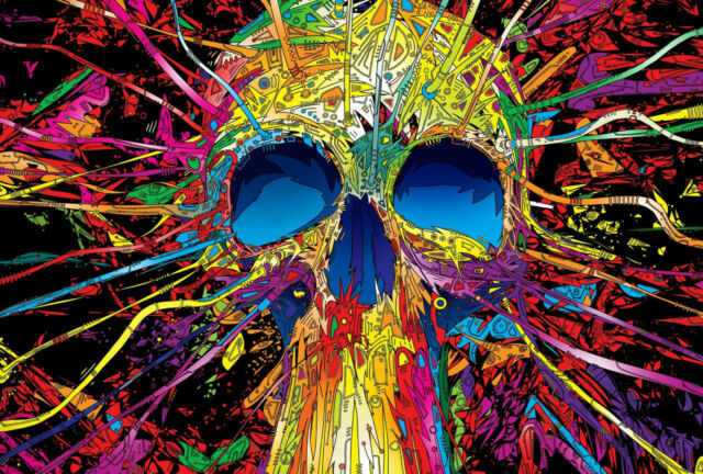 PSYCHEDELIC TRIPPY A3 POSTER PRINT ARTS TRI04 - BUY 2 GET 1 FREE