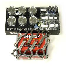 CP PISTONS MANLEY H-BEAM RODS FOR NISSAN VQ35DE 95.50mm 8.5:1 SC7337 350Z/G35