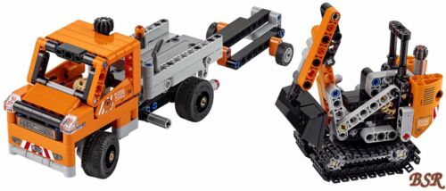 42060 Straßenbau-Fahrzeuge /& 0.-€ Versand /& OVP /& NEU ! LEGO® Technik