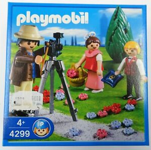 PLAYMOBIL-4299-Fotograf-mit-Blumenkindern-Hochzeit-NEU-NEW-OVP