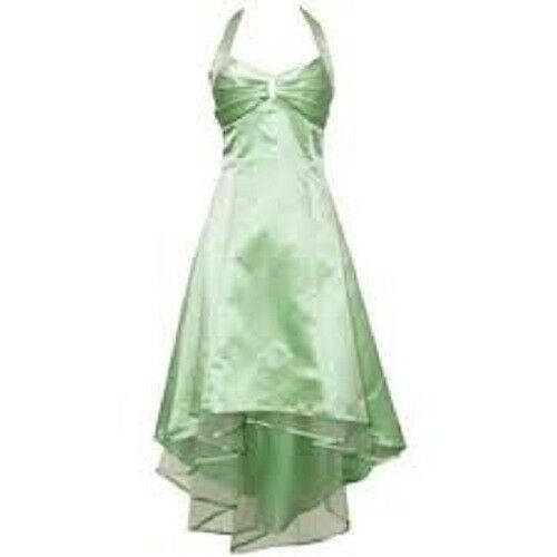 Pacific Plex Juniors Hatler Formal Gown, Sage, Large