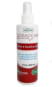 Lice Spray Furniture Bedding Treatment Works On Contact Liceadex