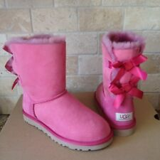 8b0c6a35880 UGG Australia Womens Bailey Bow Boot Dark Dusty Rose Size 9 for sale ...