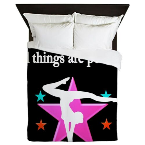 CafePress GYMNAST DREAMS Queen Duvet 1620365231