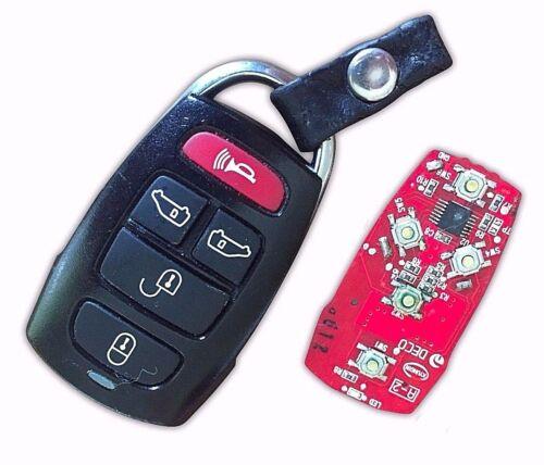 Repair Service For Kia Sedona Mk2 5 Button Alarm Remote Key Fob