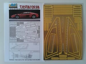 Ferrari Testarossa Pocher AMG Detail Set 2005 - 004 in 1/8 scale