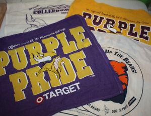 ec8e71378 Image is loading Vintage-Minnesota-Vikings-Touchdown-Rally-Towel-Banner-Flag