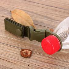 Nylon WebbingMolle  Buckle Hook Water Bottle Holder Clip Carabiner Y