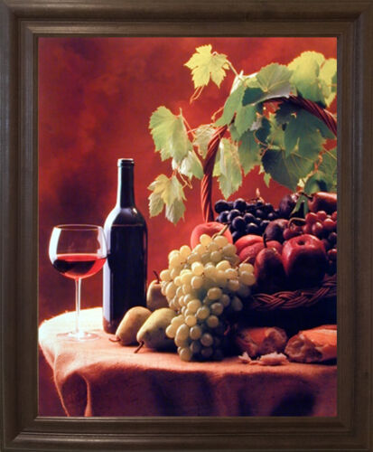 Home Garden Home Decor Posters Prints Grapes And Apples Still Life Kitchen Wall Decor Framed Picture Wine Fruit Stbalia Ac Id