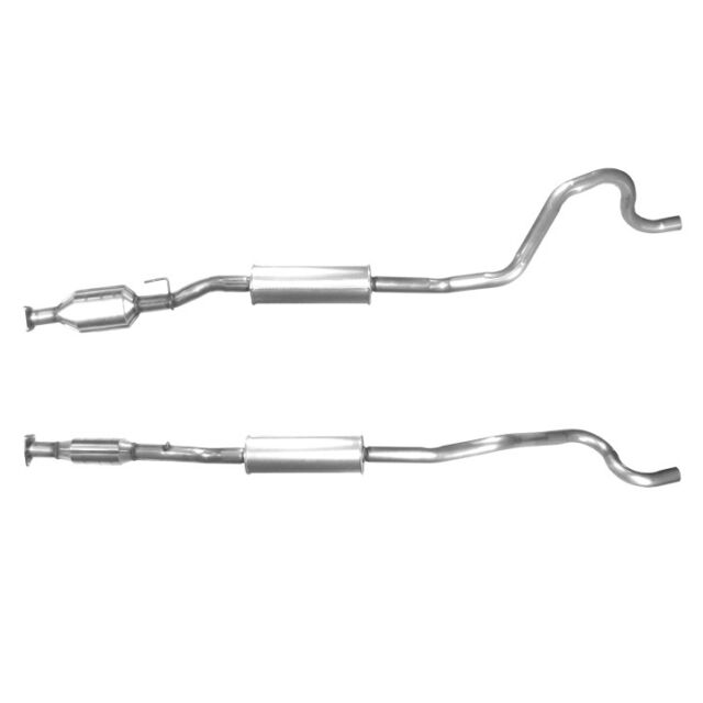 FITTING KIT INCLUDED BM80215H Exhaust Approved Diesel Catalytic Converter