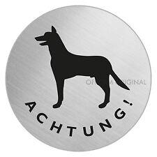 """OFFORM Türschild l Schild l """"Achtung - Vorsicht - Warnung - Hund"""" I Nr.8488"""